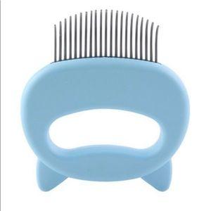 🐾 Leo's Paw | Blue Massaging Cat Comb
